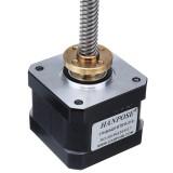HANPOSE 17HS3401-S T8x8 Nema 17 Lead Screw Stepper Motor Linear Actuators 34mm 1.3A 28N.cm 4-lead 42 Motor 100-500mm Trapezoidal Lead Screw for 3D printer Z Axis