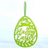 Hanging Ornament Easter Eggs Bunny Pendant Egg Shape Gifts Wall Door Decorations
