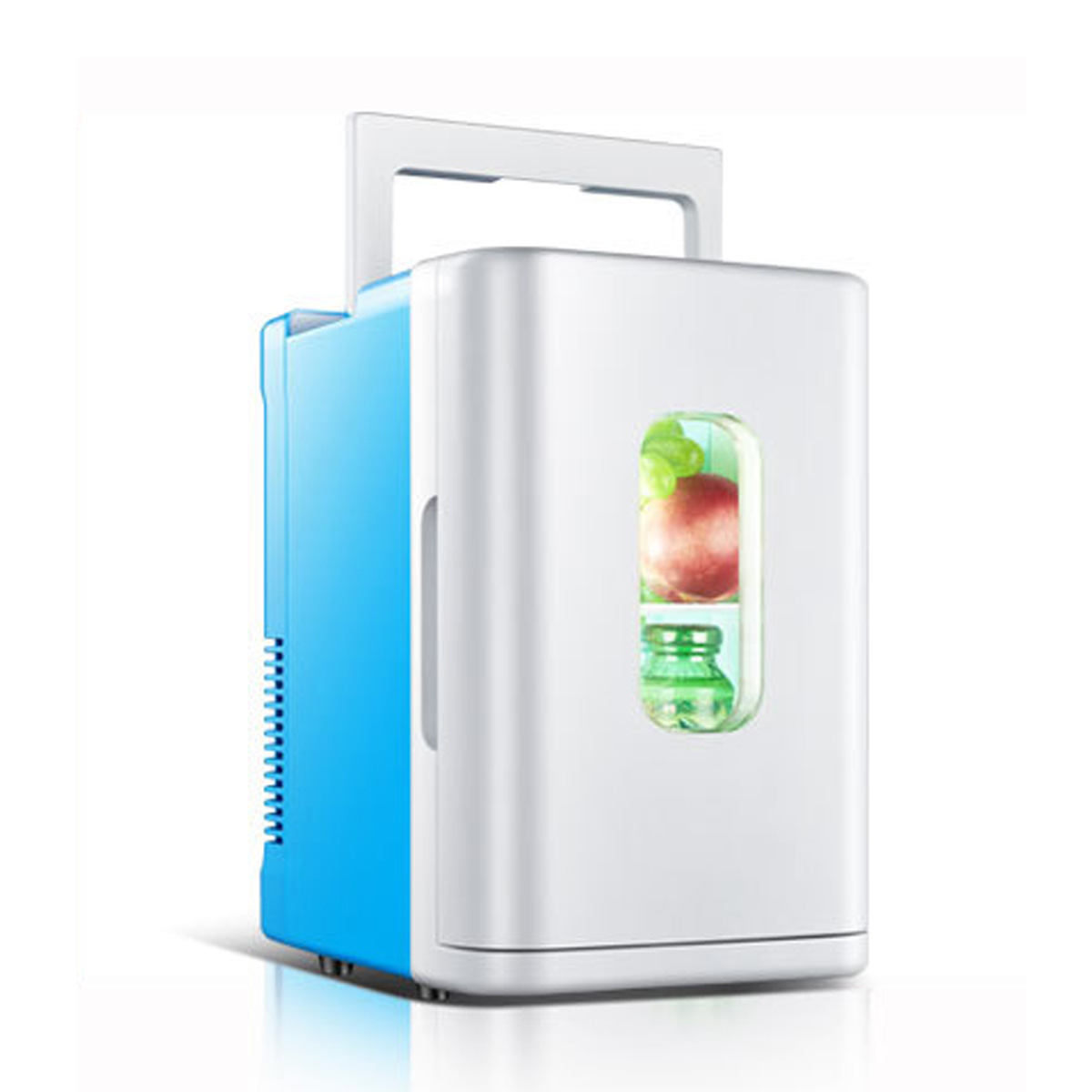 10L Car Refrigerator Dormitory Small Refrigerator Mini Refrigerator Car Home Dual-use