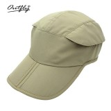 Men Summer Outdoor Quick-drying Breathable Riding Baseball Cap Leisure Sun Protection Visor Hat