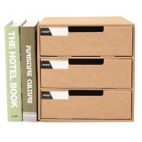 A4 Paper Desktop Parts Storage Box Student File Cabinet Storage Consolidation Box Multi-layer Drawer Storage Cabinet