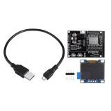 ESP8266 IoT Development Board +Yellow Blue OLED Display SDK Programming Wifi Module Small System Board