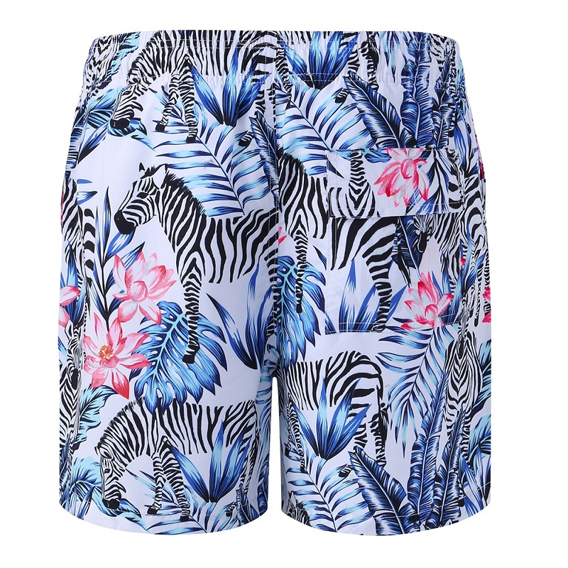 Men's Casual Quick-Drying Beach Adjustment Belt Shorts Men's Beach Wear Board Shorts