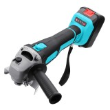 Lithium Battery Electric Angle Grinder Electric Grinding Machine Cordless Polishing Machine Cutting Tool 21800mah/29800mah