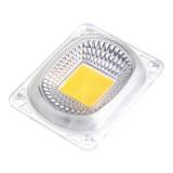 3pcs High Power 50W Warm White LED COB Light Chip with Lens for DIY Flood Spotlight AC220V