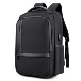 ARCTIC HUNTER B00120 18 Inch Laptop Bag Mens USB Charging Waterproof Backpacks Multifunction Large Capacity Travel Bagpack Men's Shoulder Bag School Bag