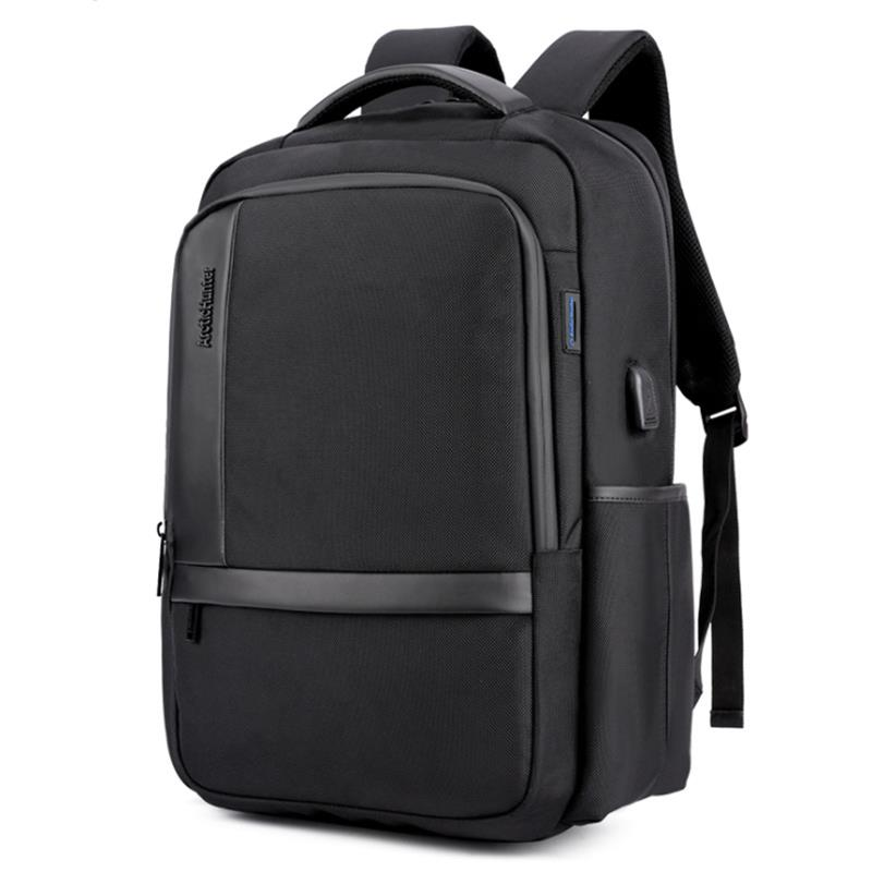Arctic Hunter B00120 18 Inch Laptop Bag Mens Usb Charging Waterproof Backpacks Multifunction Large Capacity Travel Bagpack Men S Shoulder School