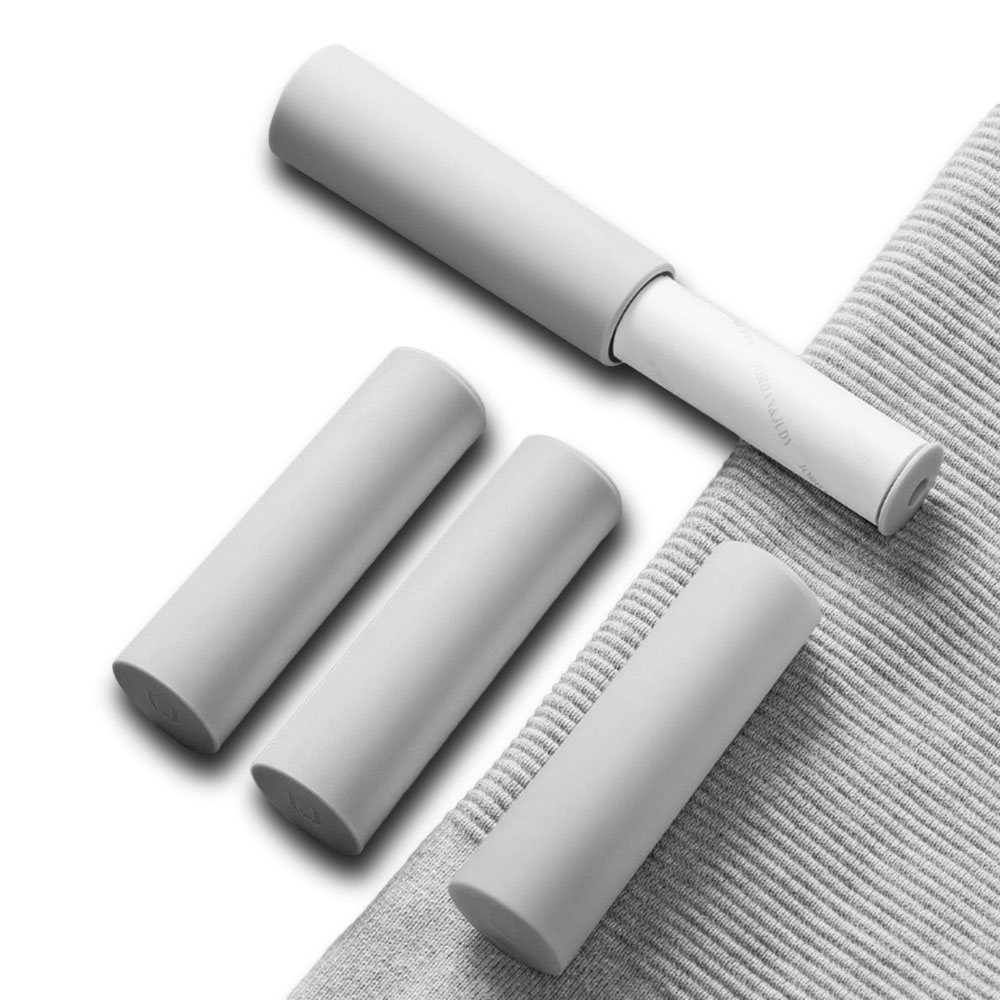 XIAOMI Jordan & Judy Portable Clothing Hair Sticker Roller Brush Cleaning Sweater Sticky Hair Remover Brush Carpet Bed Sheet Dust Removal Hair Cleaning Brush