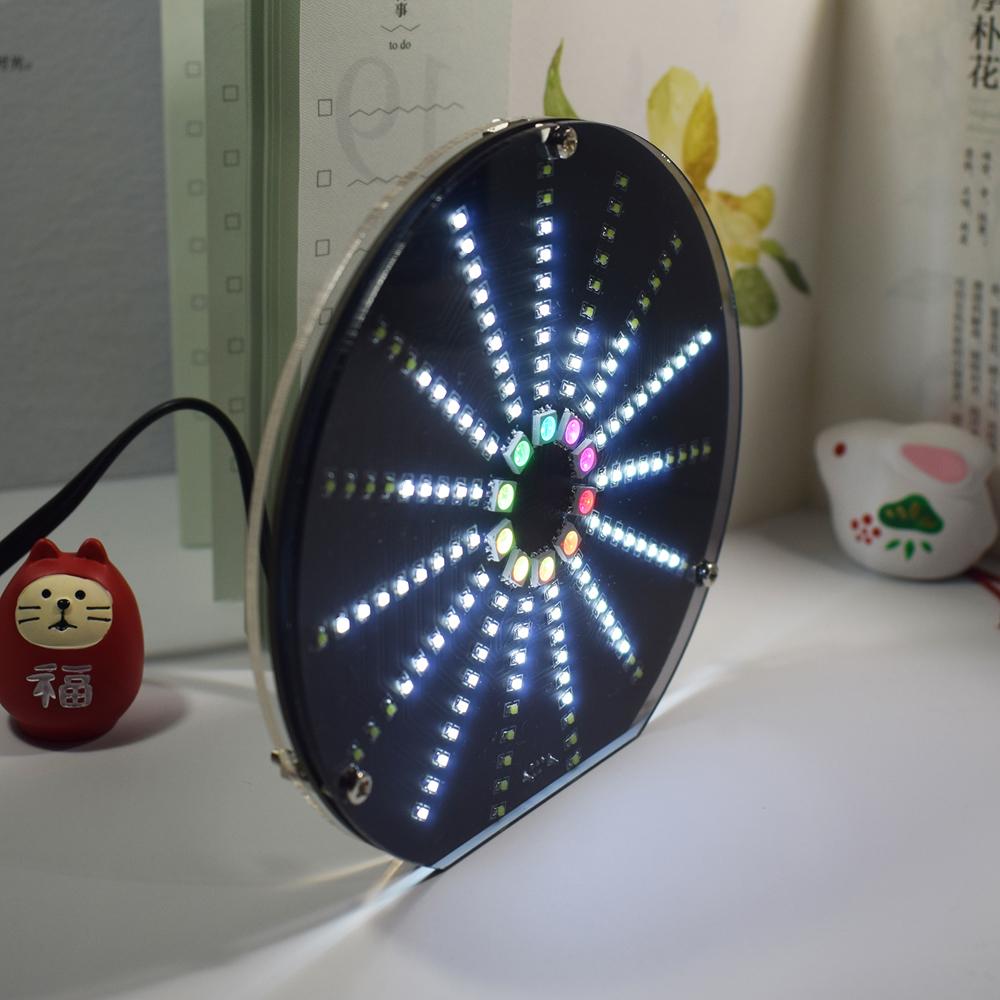 Geekcreit LED Circular Audio Visualizer Music Spectrum Display DIY Kit
