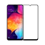 Mofi 2.5D Curved Edge Tempered Glass Screen Protector For Samsung Galaxy A50 2019 Full Screen Film