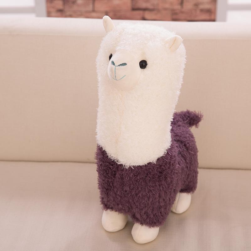 Cartoon Alpaca Plush Doll Toy Fabric Sheep Soft Stuffed Animal Plush Llama Yamma Child Baby Gift