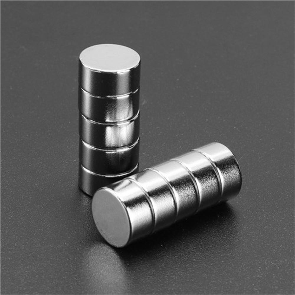 Effetool 20pcs 12mmx6mm Cylinder Magnet Round Rare Earth Neodymium Magnet