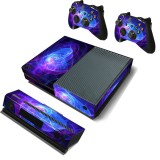 Purple Protective Vinyl Decal Skin Stickers Wrap Cover For Xbox One Game Console Game Controller Kinect