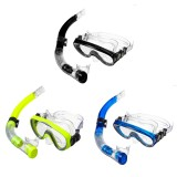 Adult Diving Glasses Mask Anti-Fog Snorkeling Swimming Scuba Goggles W/Snorkel