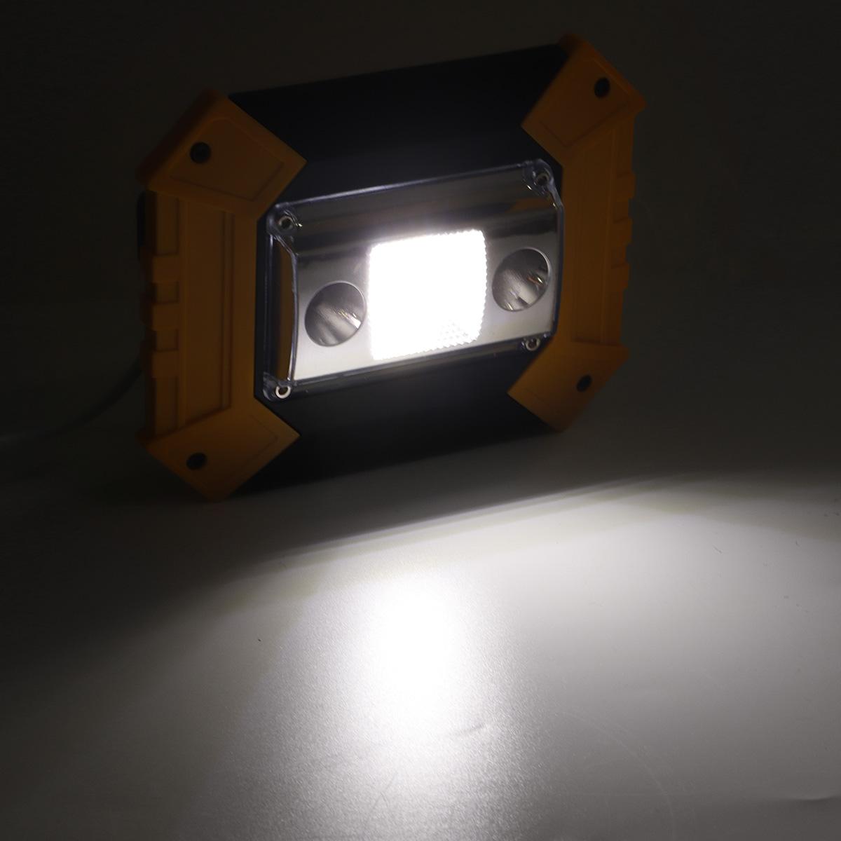 30W COB LED USB Work Light Spotlight Waterproof 5 Modes Flood Lamp Outdoor Camping Emergency Lantern