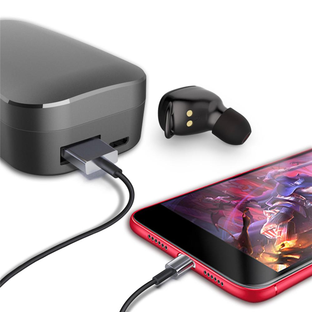 Wireless TWS 368 True bluetooth 5.0 Twins Stereo In Ear Headset Earphone Earbuds