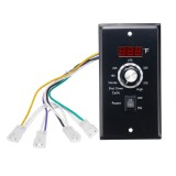 120V Digital Thermostat Controller Board Digital Temperature Controller Thermostat Board For Z GRILL