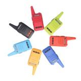 16 Channels 400-480MHZ Mini Walkie Talkie Flashlight USB Charging Outdoor Travel Civilian Radio Walkie Talkie