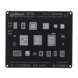 BGA Stencil Communication Baseband Module BGA Reballing Stencil Repair Tool for iPhone 5 5S 6 6S 7G 7Plus 8 8P