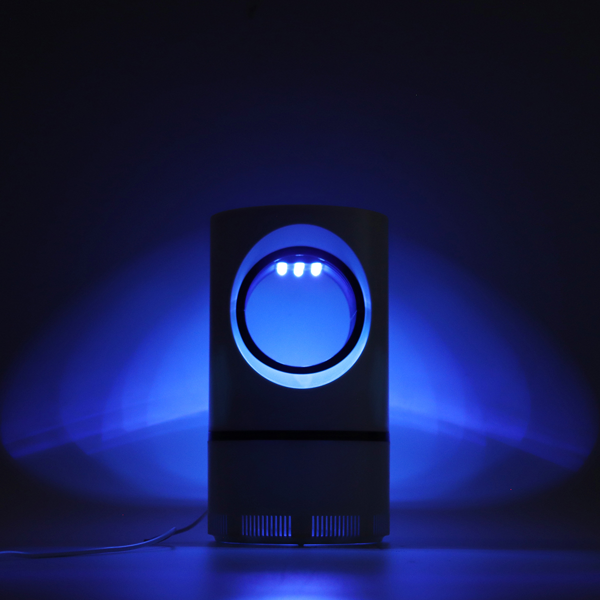 Electric Photocatalytic Mosquito Killer Lamp LED Light Non-Toxic Insect Trap USB
