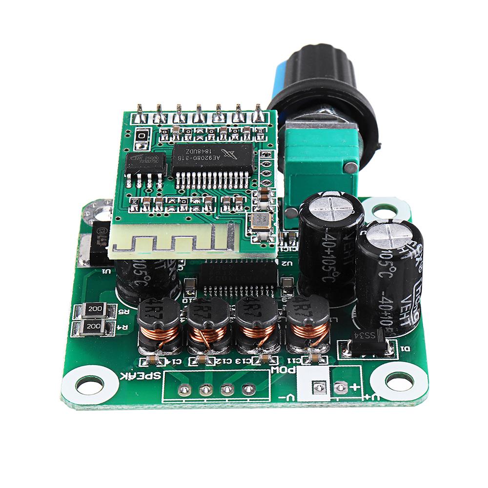 5pcs TPA3110 bluetooth 4.2 Digital Amplifier Board 15Wx2 Class D Stereo Power Amplifier DC 8V-26V