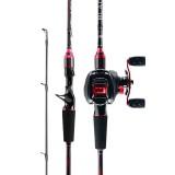 Original Abu Garcia New Black Max BMAX Baitcasting Lure Fishing Rod  2.13m  ML M H MH Power Carbon Spinning Fishing Rod