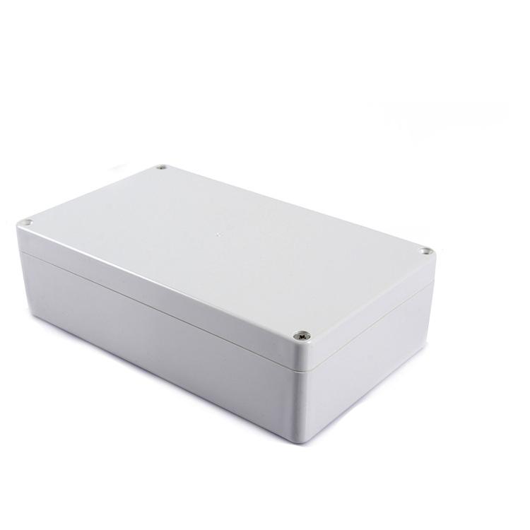 ABS Full White Desktop Instrumentation Project Enclosure Box Case -M-.