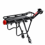 BIKIGHT Cycling Bicycle Rear Rack Seat Mountain Bike Saddle Post Mount Luggage Carrier Motorcycle