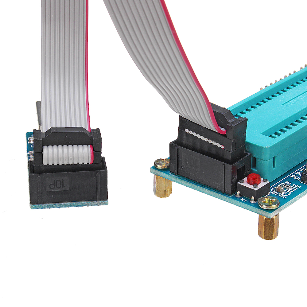 USB ISP USBasp Programmer with Download Cable for ATMEL AVR ATMEGA16 Minimum System Development Board ATmega32