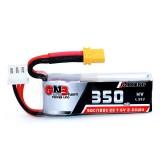 Gaoneng GNB 2S 7.6V 350mAh HV 4.35V 50C/100C Lipo Battery XT30 Plug for Beta75X RC Drone FPV Racing