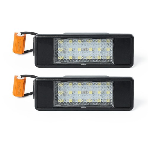 LED License Number Plate Lights Pair for Mercedes Sprinter Vito Viano W906 W639