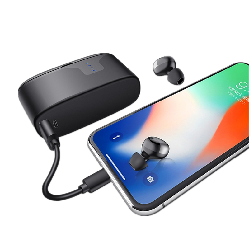 [bluetooth 5.0] Bakeey TWS Wireless Earphone IPX7 Waterproof CVC6.0 Noise Cancelling Headphone with 2200mAh Charging Box Power Bank