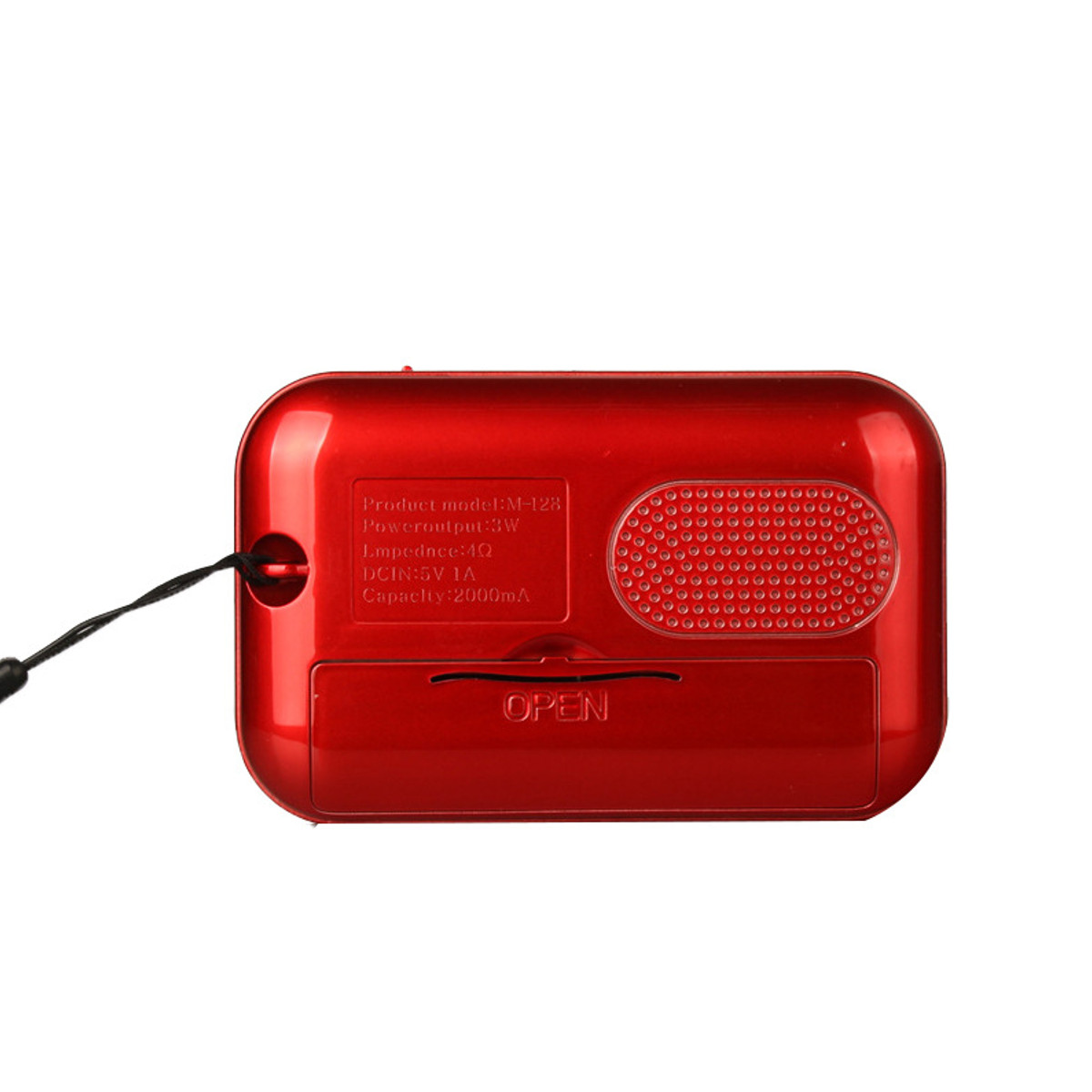 Portable Digital FM Radio U-disk TF Card MP3 Music Audio Player Speaker