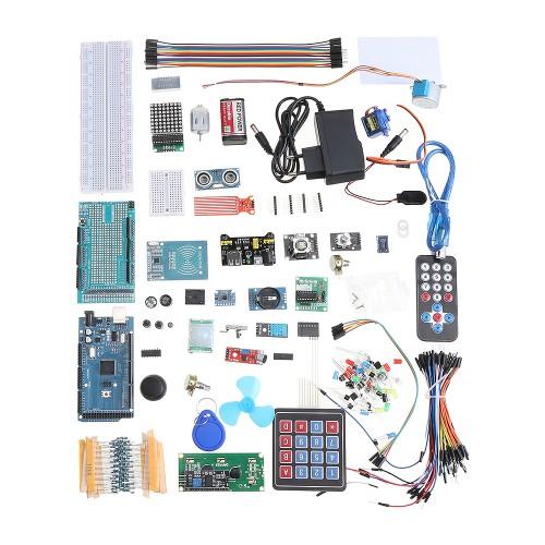 Geekcreit EU Version Mega 2560 The Most Complete Starter Kits For Arduino Mega2560 UNOR3 Nano