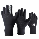 SLINX 3mm Diving Gloves Neoprene Scuba Water Swimming Snorkeling Surfing Cold-proof Anti Scratch Glove