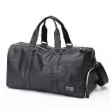 Men Large Leather Travel Gym Bag Duffle Storage Pouch Handbag Shoes Organizer