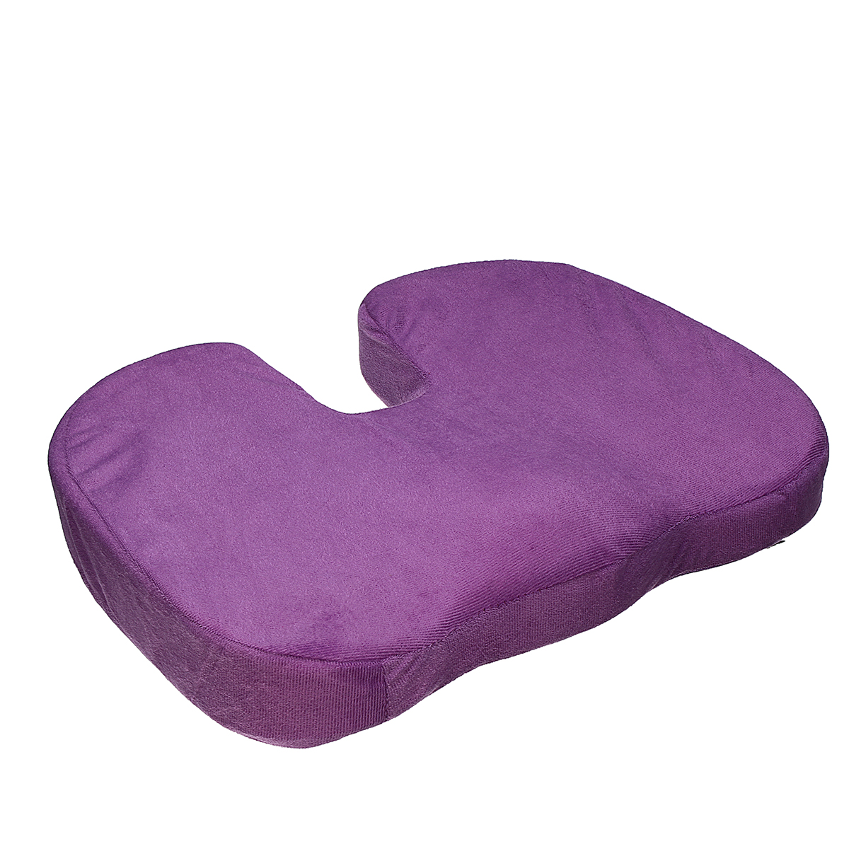 Memory Foam Seat Cushion Hip Pain Relief Orthopedic Chair Pad Pillow Bolster Relief Solution