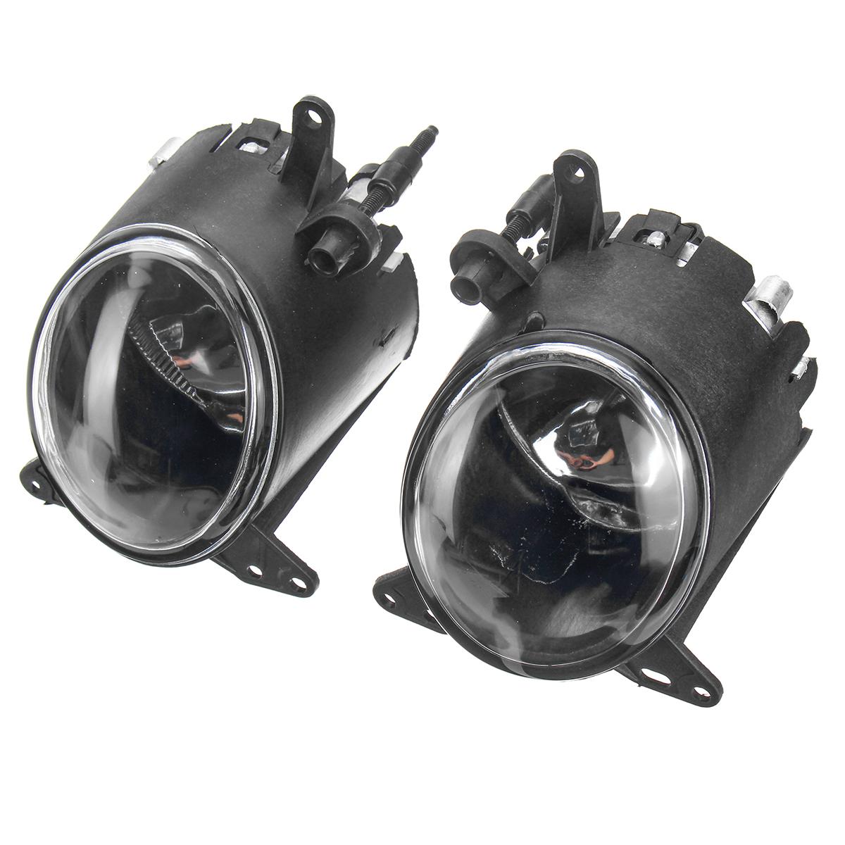 Car LED Front Bumper Fog Lights Driving Lamp for Mitsubishi Lancer 2008 2009-2014