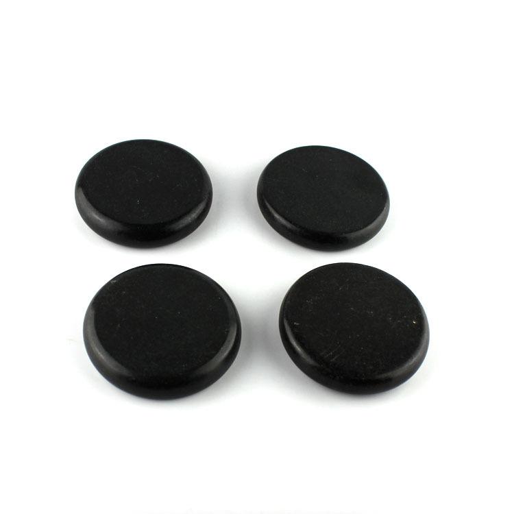 16Pcs Natural Energy Hot Stone Set Massage Stone Heater Box Kit Spa Rock Basalt