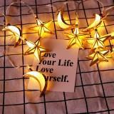 LED Sky Star Christmas Fairy String Lights Wedding Xmas Holiday Lamp Ramadan Decorations
