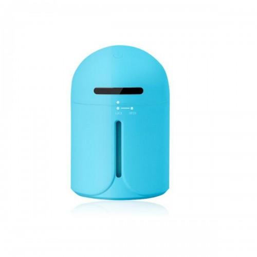 3 In 1 Nightlight USB Humidifier Mist Sprayer 200ML LED Mini Air Humidifier Ultrasonic Mute Car Humidifier Fan