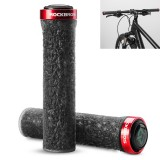 ROCKBROS Bicycle Handle Anti-Skid Rubber Grips Outdoor Bike Handlebar Accessiors Cycling Motorcycle
