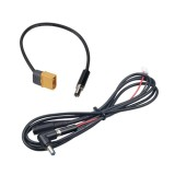 RJXHOBBY FPV Drone Dc5.5×2.1mm Battery Silicone Wire Extension Line for Fat Shark Goggle