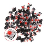 70PCS Pack 3Pin Gateron Linear Red Switch Keyboard Switch for Mechanical Gaming Keyboard