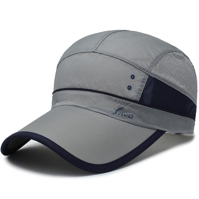 Unisex Quick-drying Washed Baseball Cap Adjustable Mesh Cap Hat Outdoor Leisure Baseball Cap Fishing Sun Hat