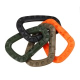 Carabiner Small Caribeaner Keychain Clip Spring Link D Shape Carabiner Fast Hang Buckle Climbing Hook Key Chain