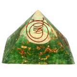 Pyramid Crystal Yoga Energy Gemstone Meditation Healing Stone Home Decorations