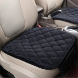 Plush Car Front Seat Cushion Covers Breathable Chair Protector Seat Pad Mat for Four Season