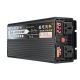 4000W Peak Pure Sine Wave Inverter DC12V/24V/48V/60V TO 220V Power Inverter Voltage Converter