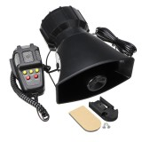 300db 12V 5 Sound Electric Air Horn General Tone Alarm Car Horn With Mic